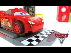 Lightning McQueen's Speed Launcher 10730 Stop motion and Speed Build. Pieces 47 Price about Lightning McQueen from Disney Lego Disney, Disney Pixar Cars, Cars 3 Lightning Mcqueen, Stop Motion, Toys, Activity Toys, Games, Toy, Beanie Boos