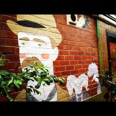Street Art Chancery Lane Bendigo