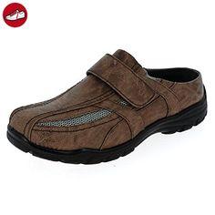 Herren Clogs Sabots Slipper (165B) Sneaker Schlappen Pantoletten Schuhe Neu zb49b