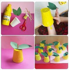 Food Crafts, Easy Crafts, Diy And Crafts, Crafts For Kids, Arts And Crafts, Paper Crafts, Bible School Crafts, Preschool Activities, Art Activities For Kids