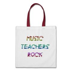 MUSIC TEACHER ROCK  BAG