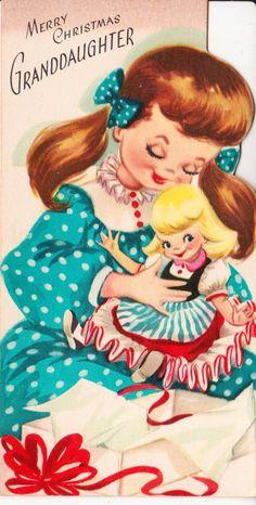 vintage graphics Grandma with granddaughter - Pesquisa Google
