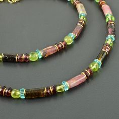 Beaded Jewelry, Beaded Bracelets, Gold, Beads, Peridot, Products, Fashion, Jewerly, Lilac Color
