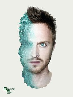 For the final episode of AMC's Breaking Bad show, I (Shelby) created these two posters of Walter White (Bryan Cranston) and Jesse Pinkman (Aaron Paul). If you've seen the show you'… Breaking Bad Jesse, Serie Breaking Bad, Breaking Bad Poster, Jesse Pinkman, Pulp Fiction, Breking Bad, La Sainte Bible, Aaron Paul, Hemlock Grove