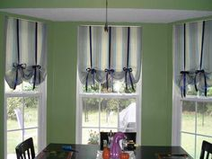 Kitchen Curtains Modern Ideas Black Ribbon Styling