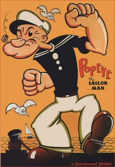 #Popeye Vintage Movie Poster (for me!)