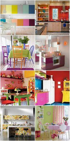 Cocina de colores!