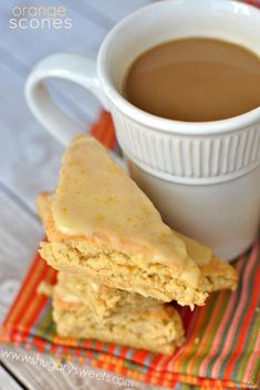 Orange Scones: copycat Panera recipe