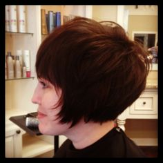 Short Bob - hair by Lauren Nagle