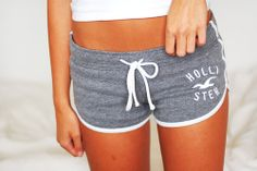 Hollister lounge shorts. Just bought a pink pair and love them! Super cute and sooo comfy :)