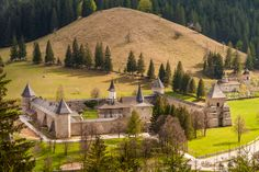 Sucevita Monastery by Oliver URSU on 500px Bucovina, Romania. www.romaniasfriends.com Romanian People, Carpathian Mountains, Medieval Castle, Bucharest, Place Of Worship, Cathedrals, Eastern Europe, Historical Sites, Alps