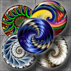 Fantasy Shells  2625 inch or smaller circles for by CobraGraphics, $3.90