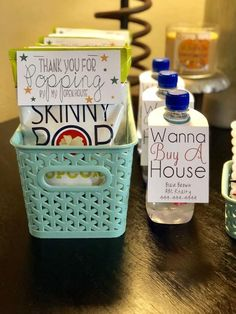 Open House set up- Blank set up Real Estate Gifts, Real Estate Career, Real Estate Business, Real Estate Marketing, Open House Gifts, Home Selling Tips, Realtor Gifts, Client Gifts, Kit Homes