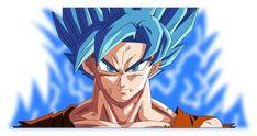 Ilustracion Goku Trabajo personal Soft: Illustrator