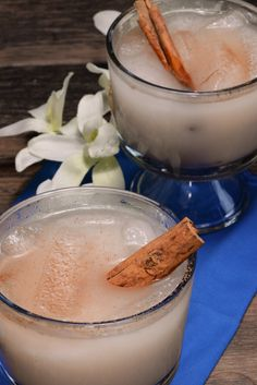 Honduran Horchata, get the refreshing recipe and join the culinary journey around the world, it's free!