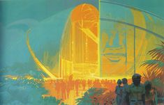 Syd Mead. Singapore. 1990