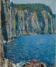 """Childe Hassam: """"Ironbound"""", 1896"""