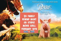 $3 Family Rewind Movies | Babe | Indy with Kids | #PLAYindy