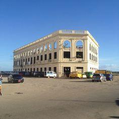 Compañia Maritima Building in Cebu City, Philippines Cebu City, Old Building, Philippines, Louvre, Mansions, History, House Styles, Travel, Historia