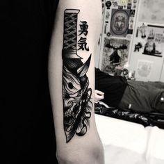 japanese tattoos for men Body Art Tattoos, Tribal Tattoos, Sleeve Tattoos, Cool Tattoos, Oni Tattoo, Hanya Tattoo, Delicate Tattoo, Subtle Tattoos, Japanese Tattoo Designs