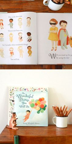 A gorgeous book that celebrates all the possibilities of what our children can be and do when they grow up.