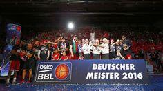 SWEEP CITY: 92:65 im dritten Finale gegen Ulm - Brose Baskets sind Deutscher Meister 2016!