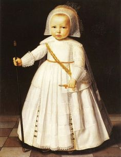 It's About Time: Mostly Dutch Children in 1620-1650 - All clothed in starched whites