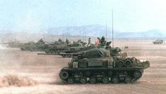 Super Sherman M-50 con cannone 60/70mm oto melara israeliani