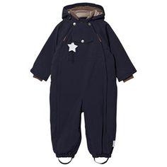 Mini A Ture Wisti M Snowsuit Blue Nights Blue Nights