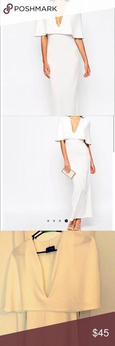 Brand new White Maxi dress Brand new maxi dress. Stretchy material. ASOS Dresses Maxi