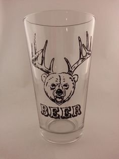 Mix N Match Pint Glasses  Beer Edition  2 Pack by HollidayGlass, $20.00