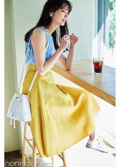 Tomboy Fashion, Cute Fashion, Fashion Pants, Daily Fashion, Fashion Outfits, Womens Fashion, Fashion Ideas, Stylish Photo Pose, Japanese Models