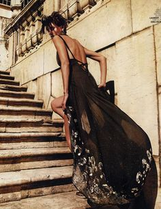 """Alison Nix in """"Latin Lover"""" Photographed by Rennio Maifredi and Styled by Sabrina di Gennaro for Marie Claire Italia, April 2012"""