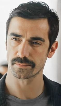 Jaw Line, Turkish Delight, Turkish Beauty, Turkish Actors, Man Candy, Love You So Much, Moustache, Real Life, Hot Guys