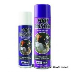 Net-Tex Footmaster Aerosol Spray For Livestock 500ml A highly researched and developed formulation…