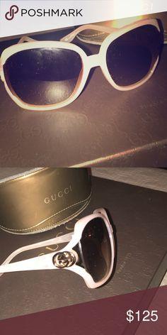 25e7fc36481 Authentic peach colored Gucci Sunglasses Authentic Gucci Sunglasses