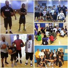 """Basketball Speed & Agility - Matavius Kee & Drew Baptiste Lauderhill, Fl Basketball  Camp. Spoke to young ballers about their unique basketball journey from Mexico to Australia to Italy. Coach Justice & Shaune from South Florida Kings top ranked Travel Team and Ramblewood Middle head the camp. Coach Kevin Green Sunrise Middle assist at the camp. http://BallerIAm.com - Trent """"Coach Radar"""" Partridge #bball #balling #sports #hoop #basketballdrills #basketball #basketballtraining…"""