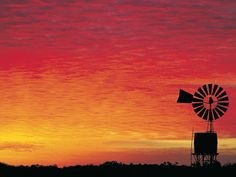 Outback Sunset in the Northern Territory