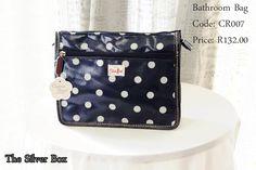 bathroom bag Coin Purse, Handbags, Wallet, Purses, Bathroom, Chic, Silver, Cotton, Accessories