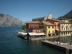 Malcesine | Malcesine is on the eastern shore of Lake Garda and about 75 miles from Venice. The picturesque scenery and lake views make it a town worth visiting.