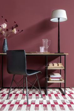 Red decoration: 5 trendy ideas for a dynamic interior Home Room Design, Home Interior Design, Office Nook, Home Office, Red Walls, Elegant Homes, Home Accents, Entryway Decor, House Colors