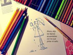 Pintando con lápices acuarelables (mini tutorial de iniciación): http://cinderellatmidnight.com/2013/01/22/empezando-a-meterle-mano-a-la-nueva-mision-de-agente-secreto-scrapbook-sobre-mixmedia-y-tecnicas-de-pintura/
