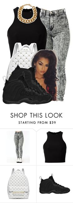 """""""Untitled #118"""" by soooteresa ❤ liked on Polyvore featuring T By Alexander Wang, Michael Kors, NIKE and *Accessories Boutique"""