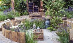 Garden Types, Diy Garden Furniture, Beach Gardens, Garden Cottage, Garden Pictures, Garden Structures, Garden Chairs, Garden Seats, Garden Projects