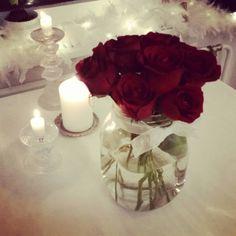 Kukat, kynttilät ja joulu <3