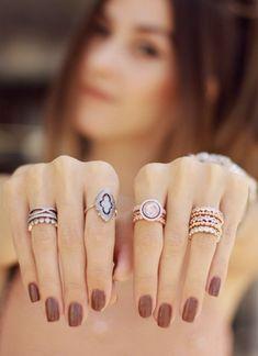 Pandora Rings | FashionCoolture #pandora