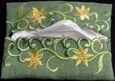 Pocket Tissue Holder in a Daffodil Davina Design *** Click image to review more details.