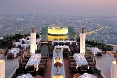 Sirocco and Sky Bar, Bangkok