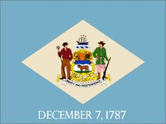 Delaware state flag - click to see all state flags