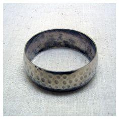 Vintage Hammered Silver Wide Bangle Bracelet ($13) ❤ liked on Polyvore featuring jewelry, bracelets, vintage bangle bracelet, silver bangle bracelet, silver jewelry, hinged bangle and vintage silver bangles